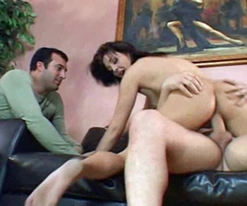 husband watch wife ride dick